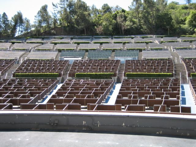 Test for Terrace 3 hollywood bowl